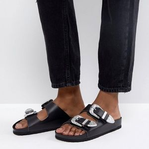 Worn Once | ASOS Franco Western Sliders